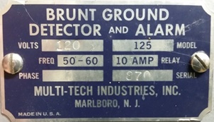 Brunt Ground Detector