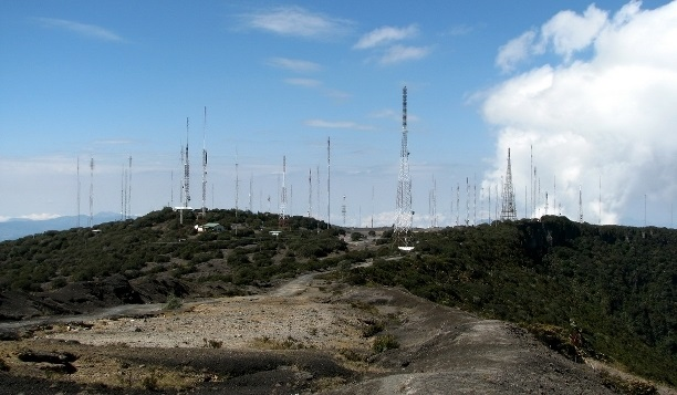 Costa Rica Antenna Farm