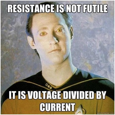 Resistance...