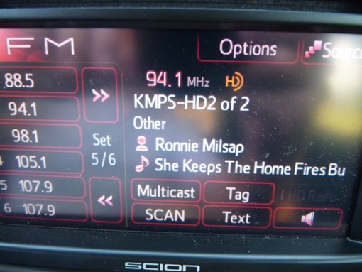 Scion HD Radio Display - 1