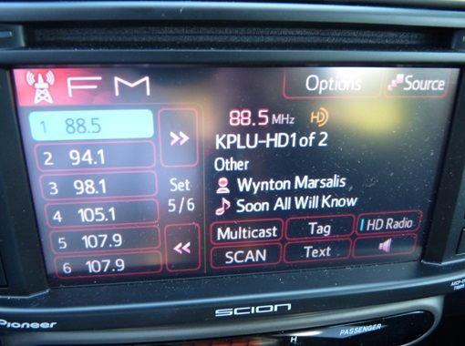Scion HD Radio Display - 2