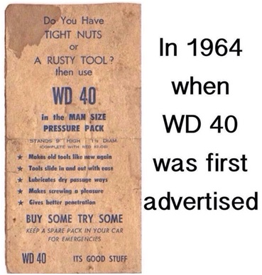 WD40 Ad